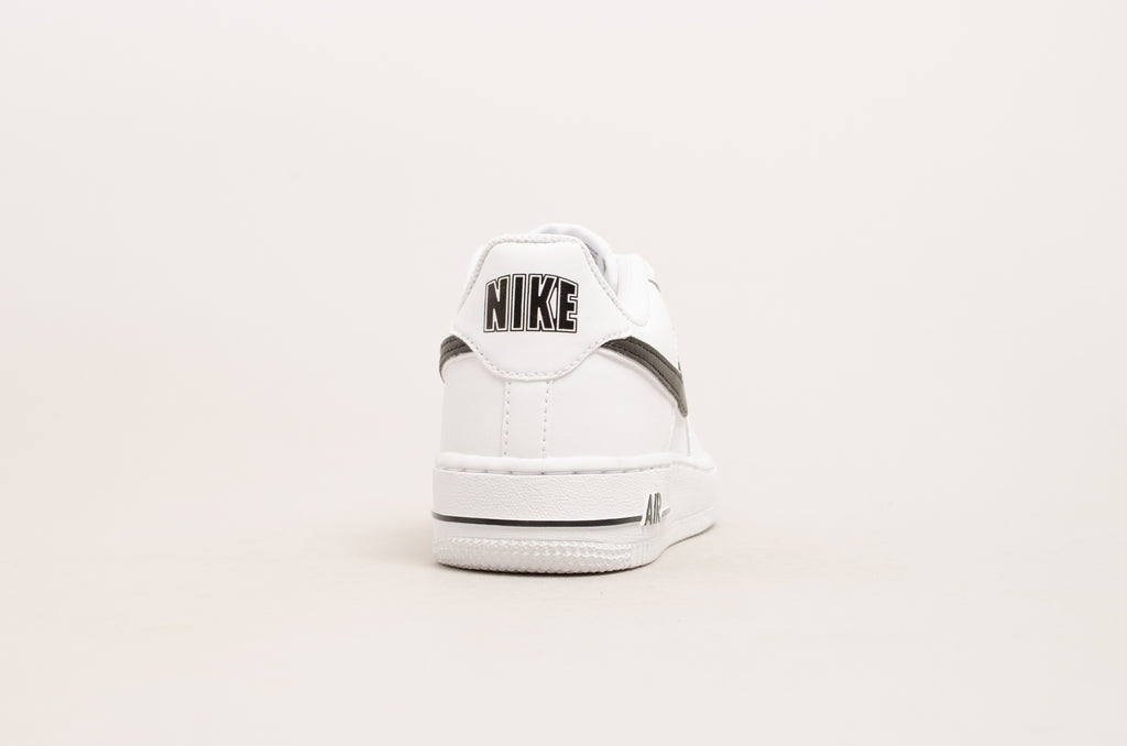 Sevensneakerstore.com Nike Air Force 1-3 ( GS ) White/ Black AV6252-100
