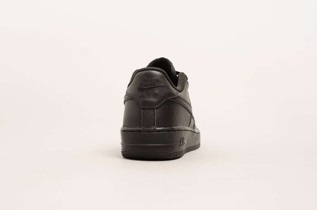 Sevensneakerstore.com Nike Air Force 1 ( GS ) Black / Black 314192-009