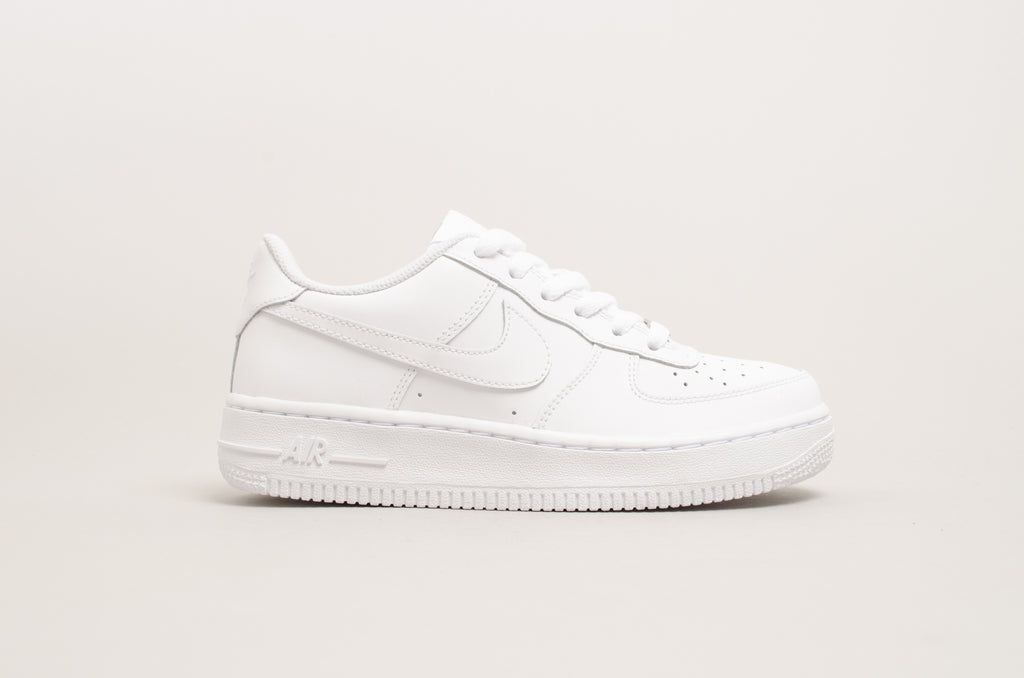 Sevensneakerstore.com Nike Air Force 1 ( GS ) White   White 314192-117 ... d8a12ed0f