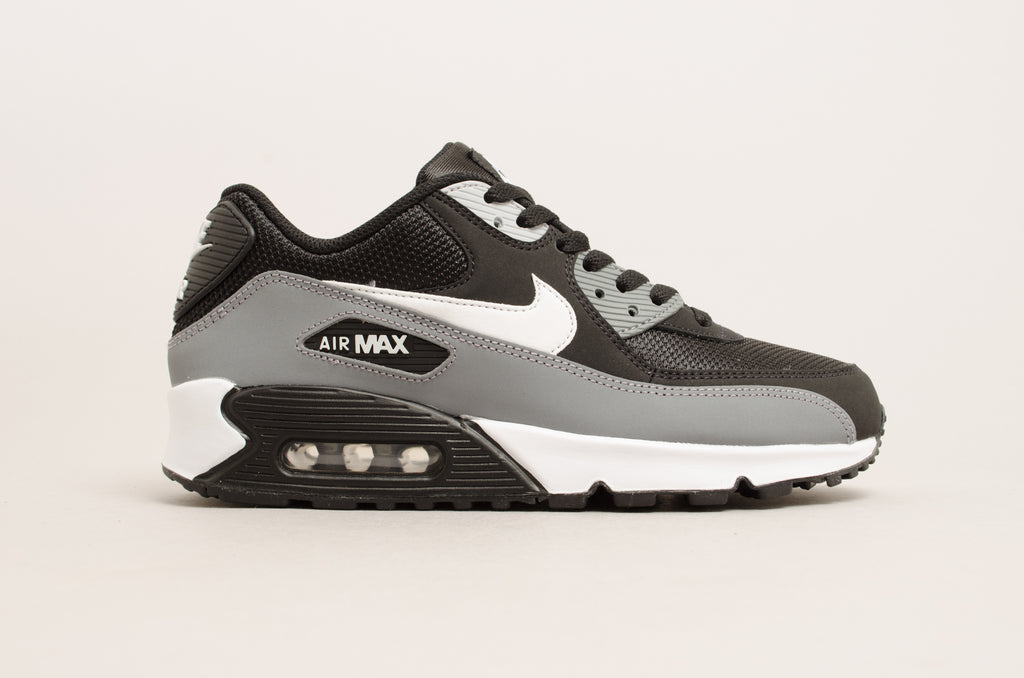 hot sale online f846d 6b2d7 Sevensneakerstore.com Nike Air Max 90 ( Black   Grey   White ) AJ1285- ...