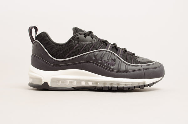 new product b4ded e8ca7 Sevensneakerstore.com Nike Air Max 98 ( Oil Grey   Black   Summit White )