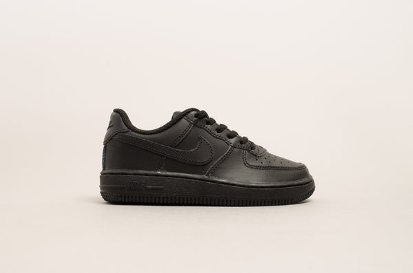 Sevensneakerstore.com Nike Force 1 ( PS ) Black / Black 314193-009