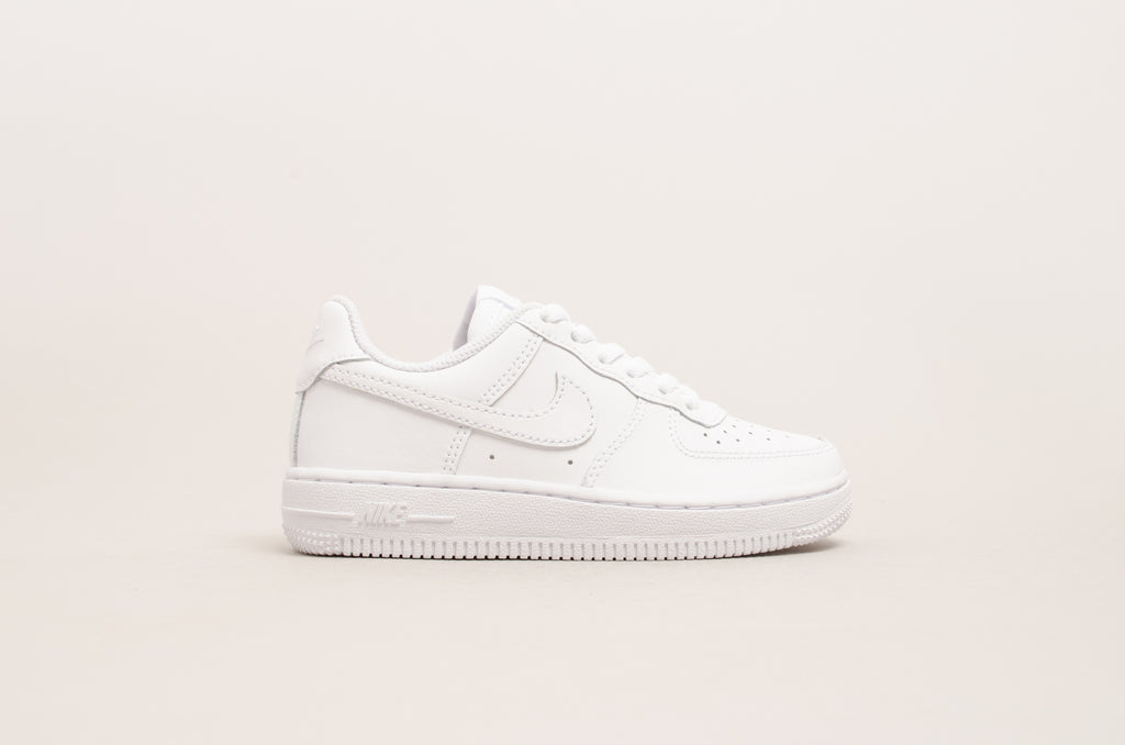 Sevensneakerstore.com Nike Force 1 ( PS ) White / White 314193-117