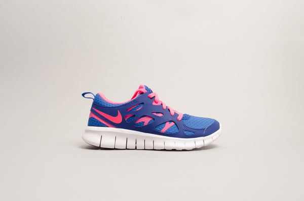 Sevensneakerstore.com Nike Free Run 2 GS (Game Royal Hyper Pink - White) 477701-401