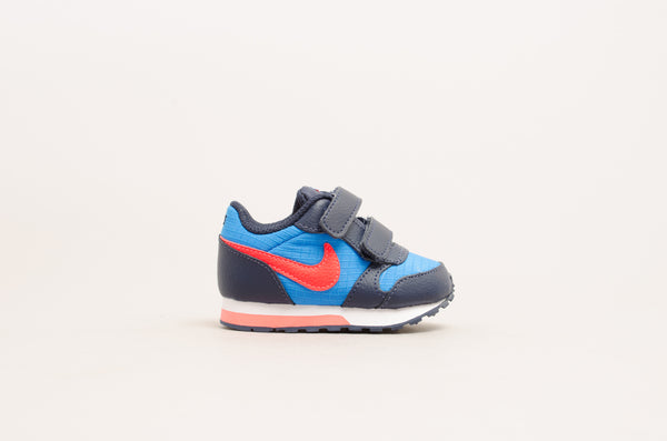 Sevensneakerstore.com Nike MD Runner 2 TDV (Toddler Velcro) Photo Blue / Bright Crimson / Obsidian / White 806255-412