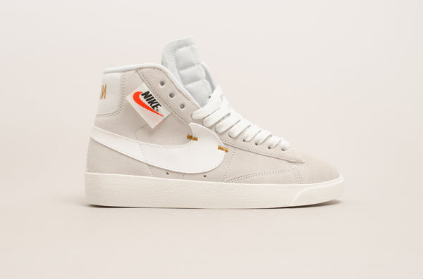 Sevensneakerstore.com Nike Women's Blazer Mid Rebel ( Off White Grey / White / Black ) BQ4022-101