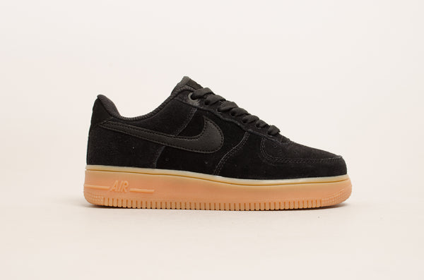Sevensneakerstore.com Nike Women's Air Force 1 '07 Special Edition ( Black / Gum ) AA0287-002