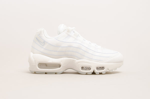 Sevensneakerstore.com Nike Women's Air Max 95 SE ( Summit White / Blue ) 918413-102