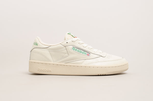 Sevensneakerstore.com Reebok Club C 1985 TV ( Chalk / Paperwhite / Glen Green ) DV6434