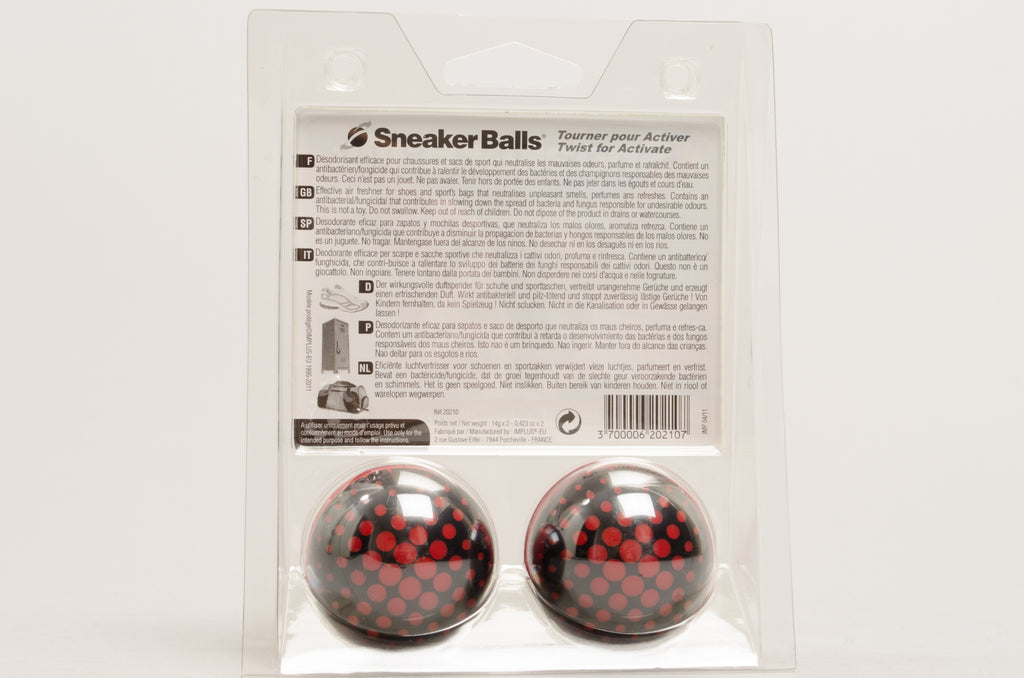 Sneaker Balls Matrix Black Red