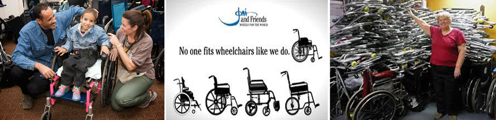 No one fits wheelchairs like Wheels for the World.
