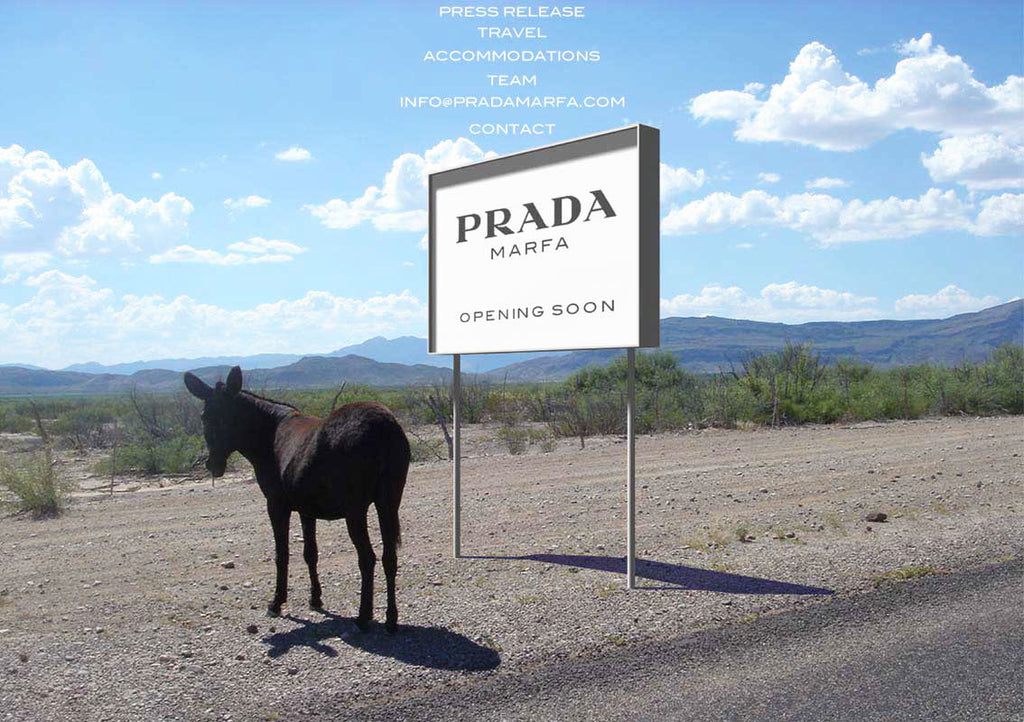 Sign Coming Soon: Prada Marfa, TX