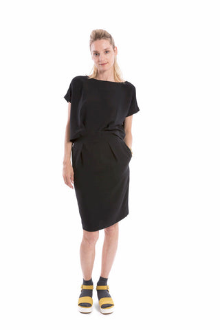 2-Piece Dress Black