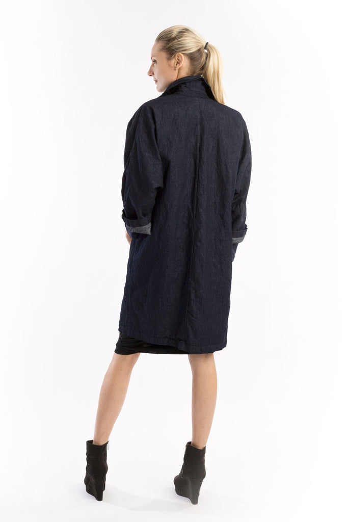 Paper Denim Welt Pocket Car Coat