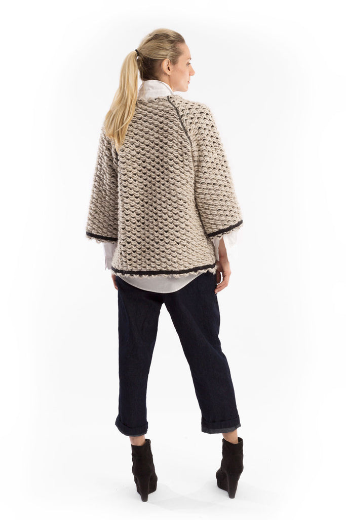 Back View Sweater Cardie