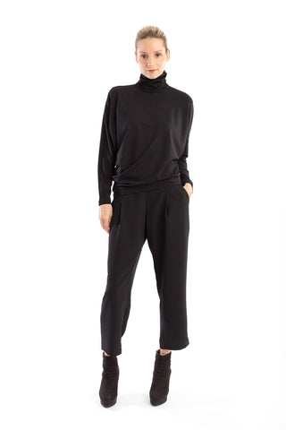Soft Trouser in Black