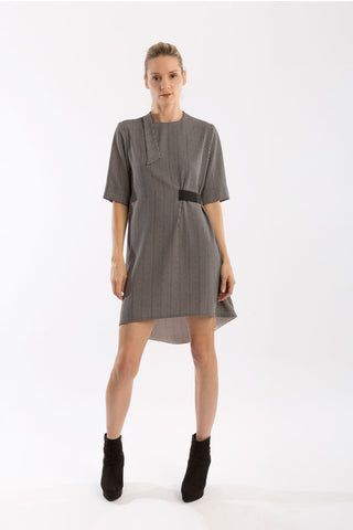 Stripe Tunic A-Line Dress