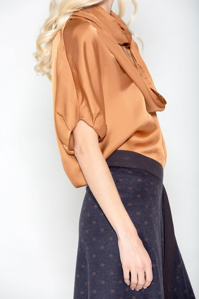 Infinity Collar Top Copper