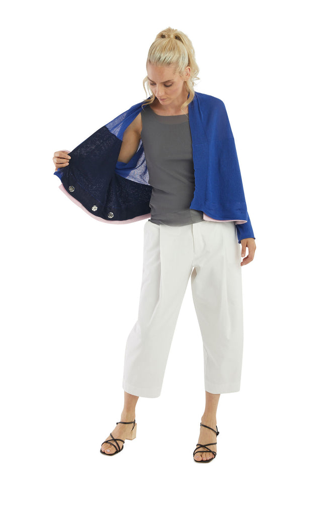 Azure Navy 4 in 1 cardigan