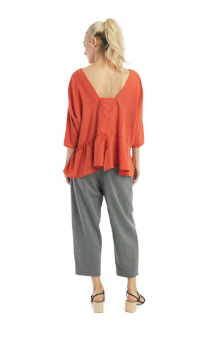 Persimmon Baby-doll Top