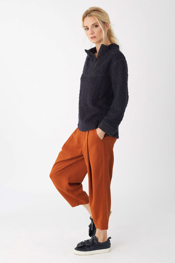 Tuck Trousers Cinnamon