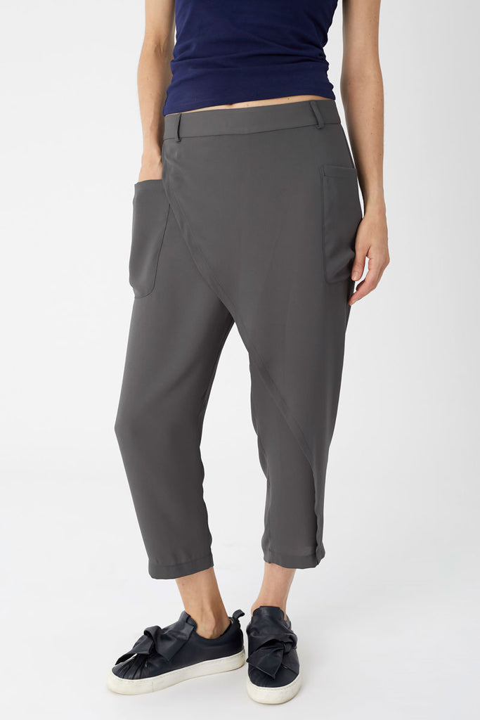 Cargo Pocket Trousers Charcoal