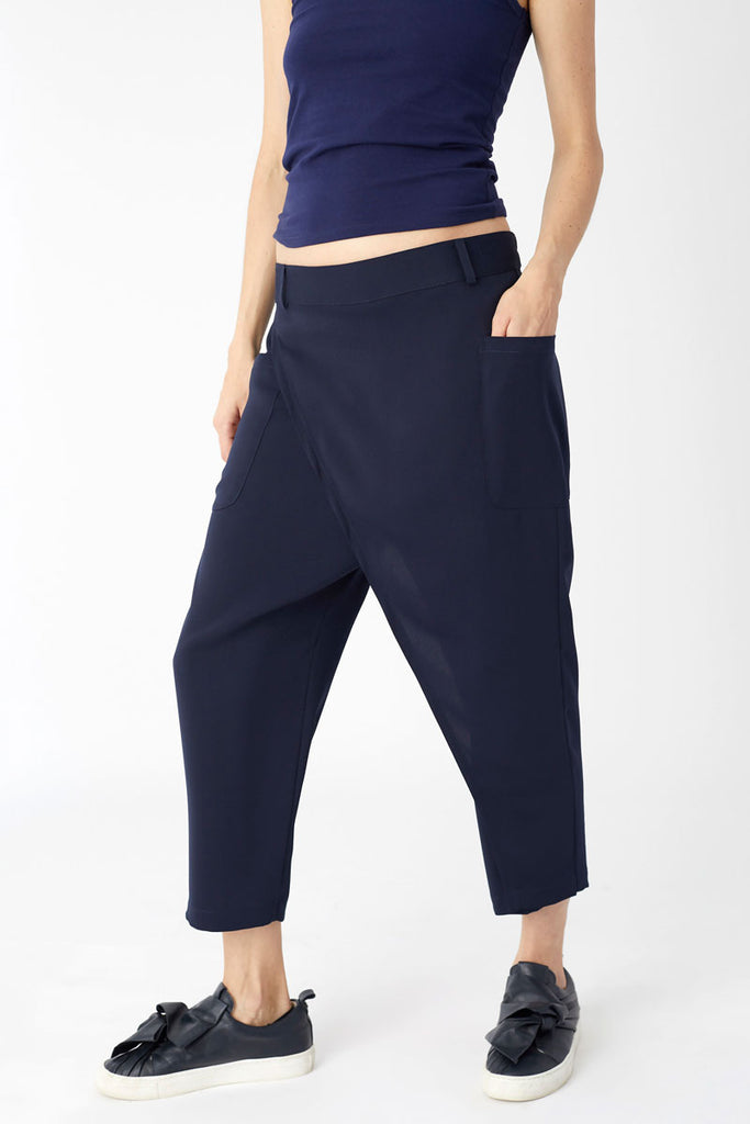 Cargo Pocket Trousers Navy