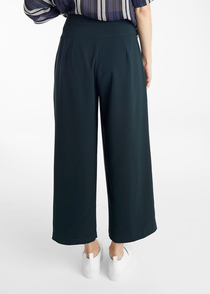 Hunter Green Welt Pocket Trousers