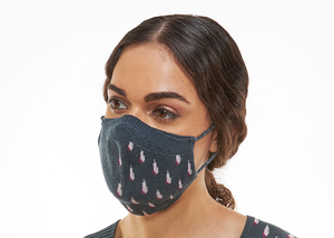 Raindrop Full Fashioned Knitted Mask