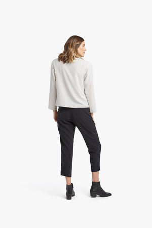 Load image into Gallery viewer, Chalk Zip Pullover