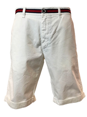 Mason's Chino Short London Summer in White