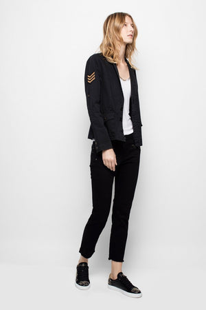 Virginia Grunge Military Jacket - Zadig & Voltaire
