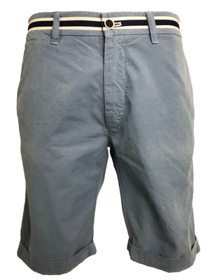 Mason's Chino Short London Summer in Light Blue