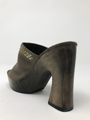 Luna Sandal Calleen Cordero in Dark Grey