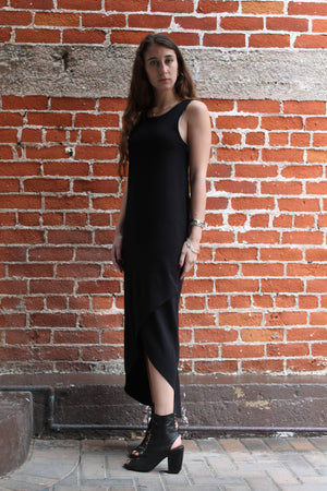 "Lila ""Criss Cross"" Dress in Black"