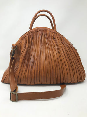 Rita Merlini Amelie Pleated Handbag
