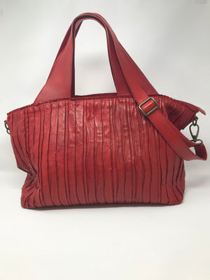 Rita Merlini Cole Pleated Handbag