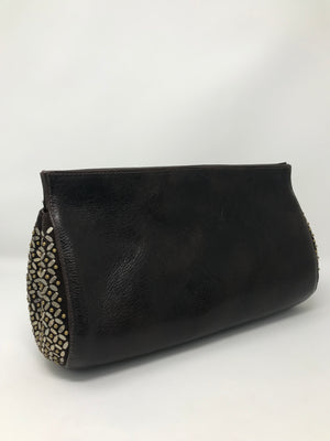 Calleen Cordero Wren Clutch in Brown