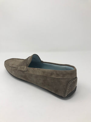 NUBUCK LEATHER MOCCASINS
