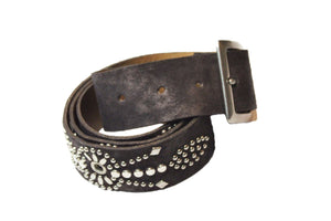 "Calleen Cordero Letil 1.5"" Belt in Expresso"