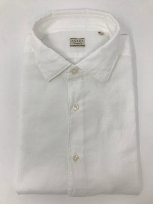 XACUS - Evolution Fit - White Long Sleeve Shirt #9352