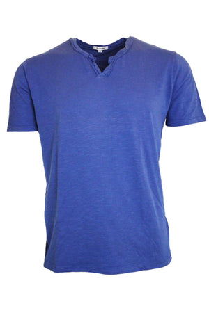 Short Sleeve Notched Tee Regular Fit