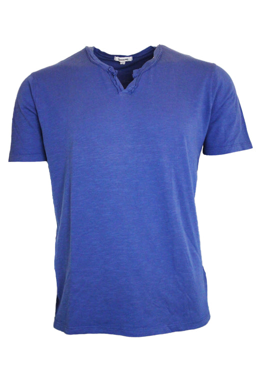 Short Sleeve Notch Tee