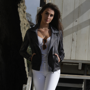 LAGUNA LEATHER JACKET