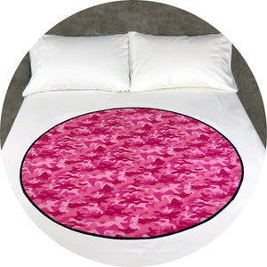 Pink Power - Venus Matters - soft flannel make sleeping on your period a dream. This period blanket/ squirter pad is guaranteed for 3 years.