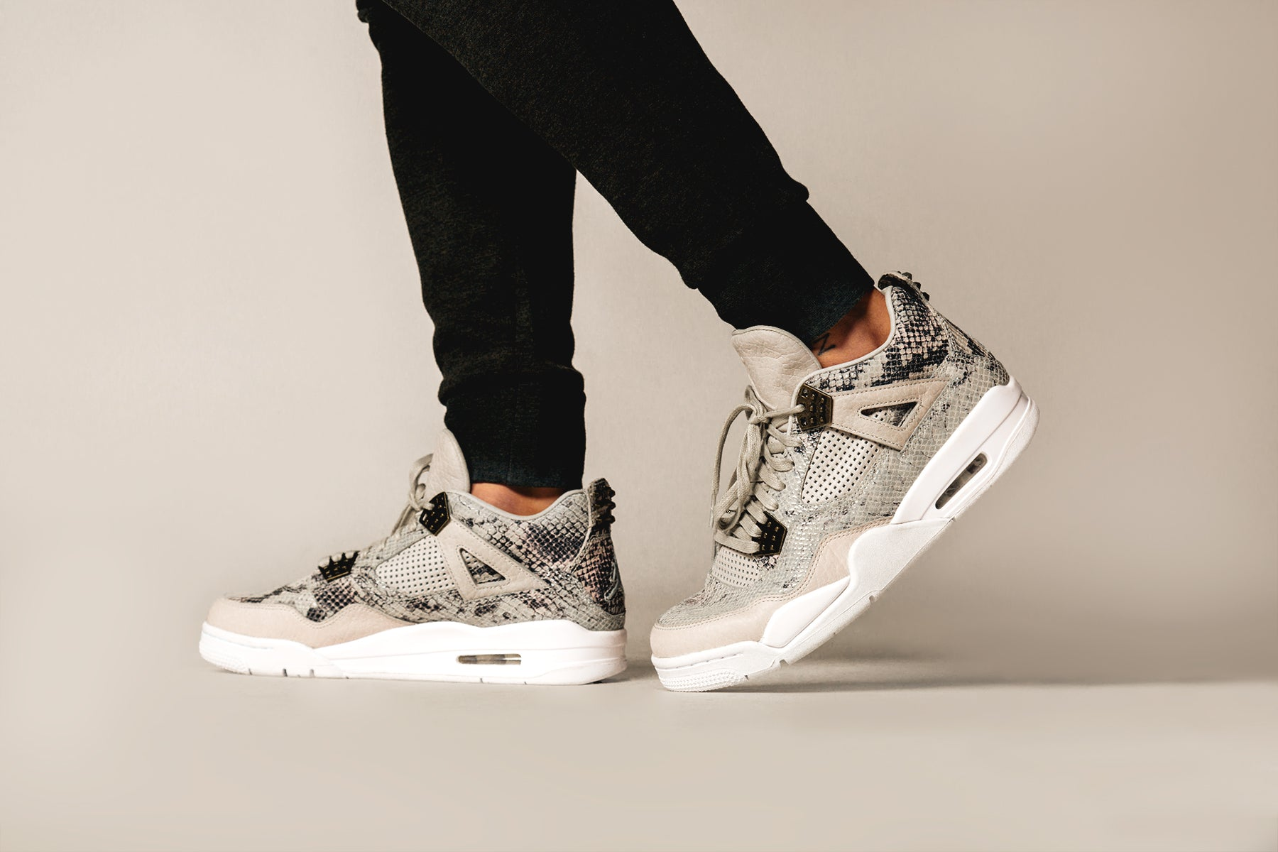 timeless design fb8a3 fdb72 ... wholesale the air jordan 4 retro premium snake skin is now available at  apbs columbia and