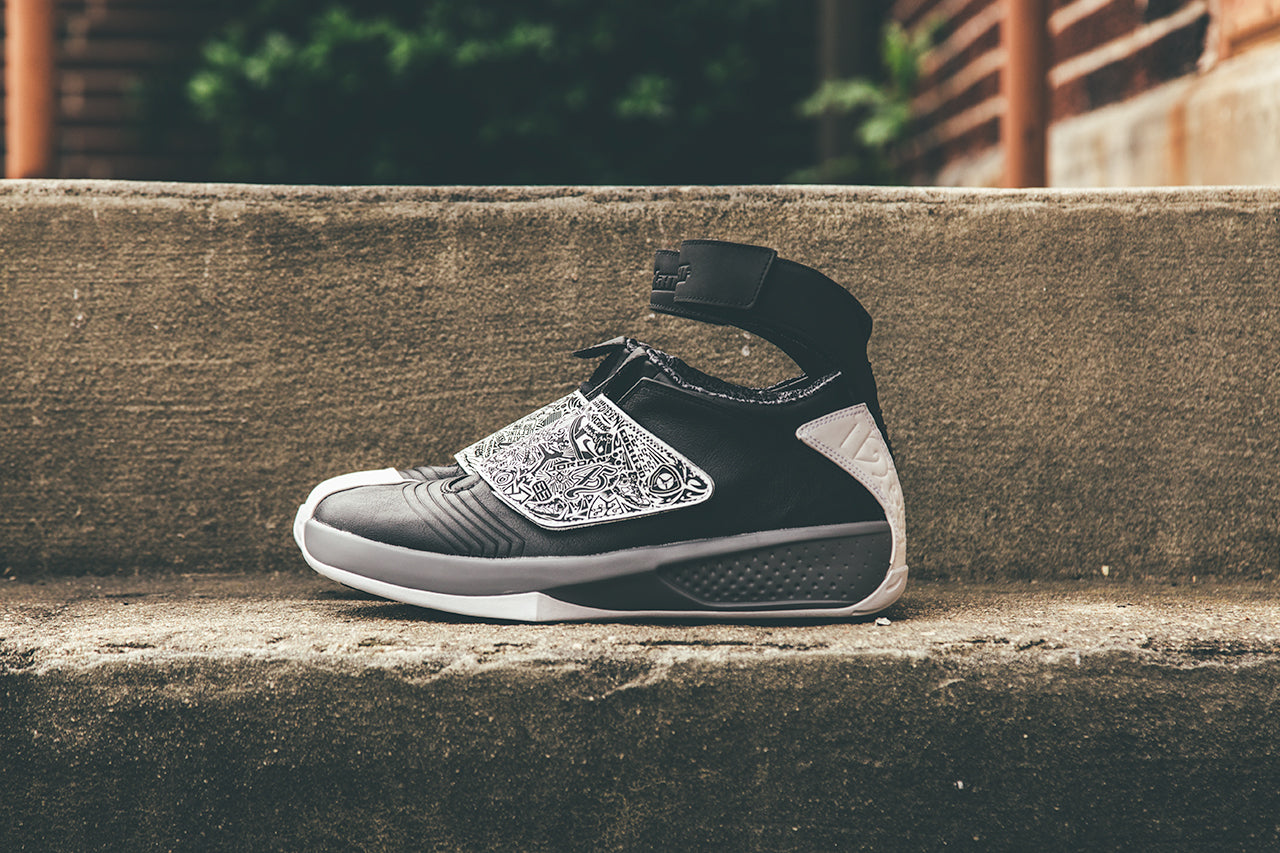 "2f138043ca7e Jordan Brand has released the Air Jordan XX Retro in a ""Cool Grey""  colorway. Looking to continue the silhouette s performance innovation"