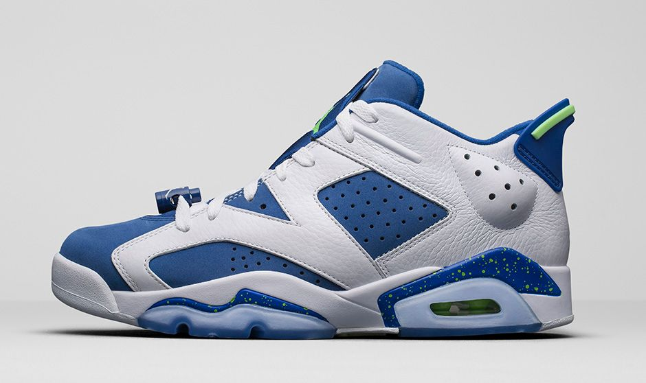 0428eb53913 The Air Jordan 6 Retro Low arrives in a bright new colorway. Remastered and  ready to wear