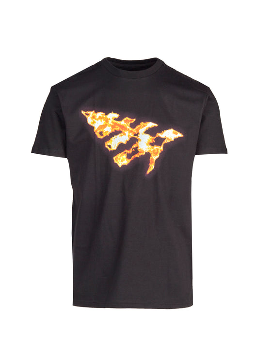 PAPER PLANES: ON FIRE TEE [BLACK] - apb-store