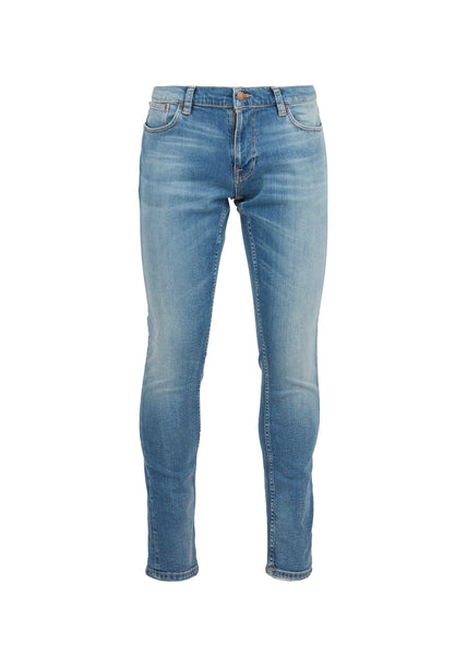 NUDIE JEANS CO.: TIGHT TERRY JEANS [INDIGO]